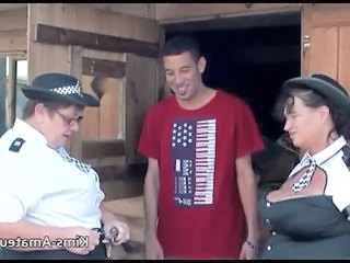 "Big busty grannies with younger guy"" class=""th-mov"