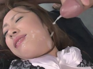 Facial Asian Cumshot
