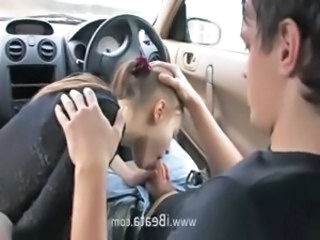 Car Blowjob Teen