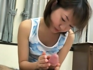 Japanese Asian Handjob