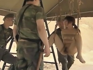 Army Asian Bondage