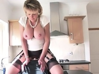 Machine Big Tits Blonde