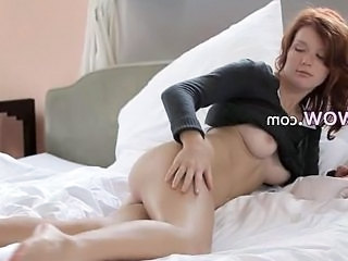 Incredible Redhead Pose Soft Skin