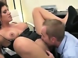 Licking MILF Office