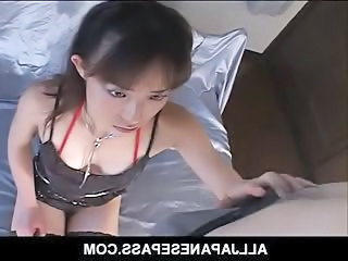 Asian Brunette Handjob