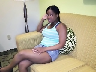 Cute Ebony MILF