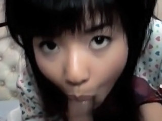 Asian Blowjob Clothed