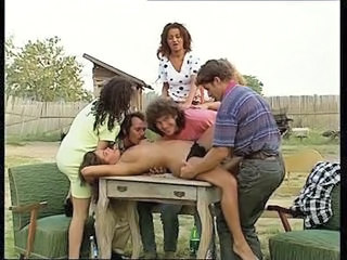 Farm Swingers Orgy