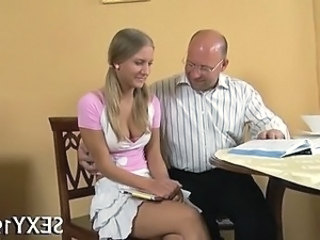 Daddy Teacher Blonde