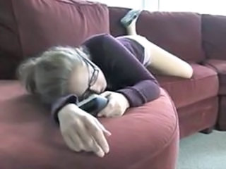 Babysitter Glasses Sleeping Teen