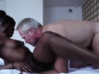 Daddy Amateur Ebony Interracial MILF