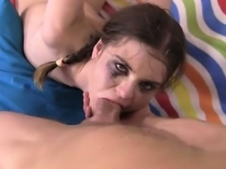 Busty model anal first time