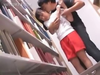 Asian Kissing Student
