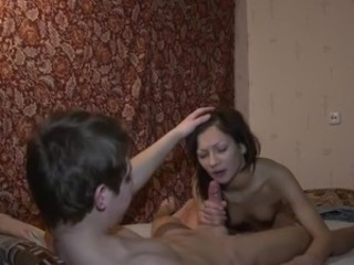 Young Couple Fucks, Sucks, 69 and Takes A Facial