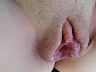 Clit Close up Creampie