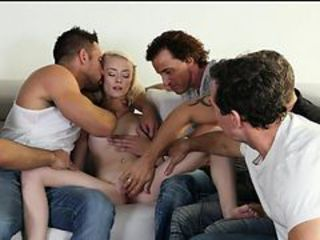 Gangbang Blonde Cute