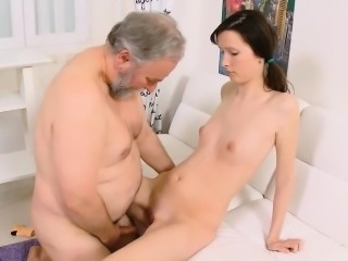 Brunette Daddy Daughter