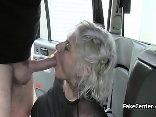 Blowjob Car MILF