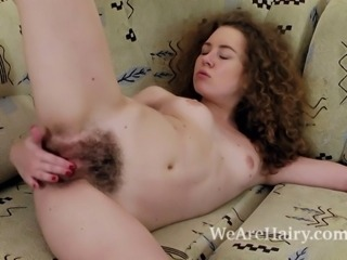 Hairy Masturbating Small Tits
