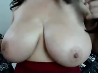 Busty Italian Chick With A Toy