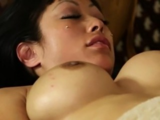 Luxury titty babes in secret massage saloon