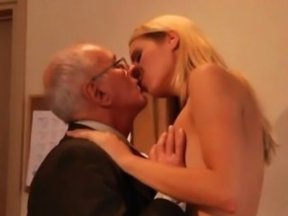 Kissing Blonde Daddy
