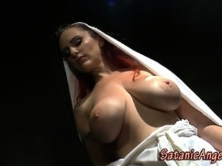Nun Amazing Big Tits