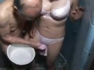 Daddy Showers Asian