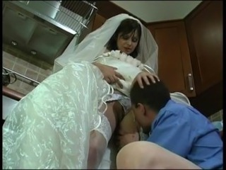Bride Teen Licking