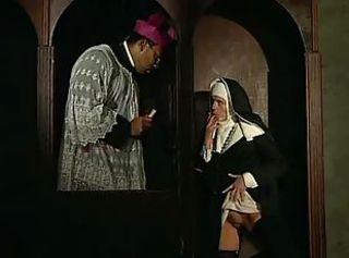 Nun Old and Young Teen