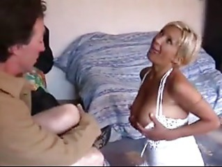 Drunk French MILF