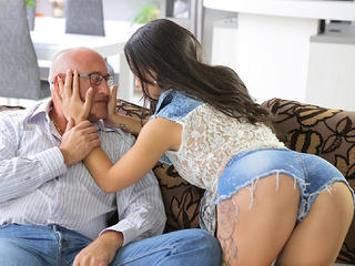 OLD4K. Handsome daddy able to please all needs of beautiful Sex Tubes