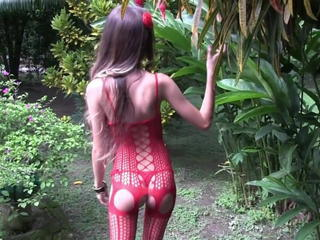 Brazilian Fishnet Latina