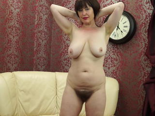 Mature Mom Hairy