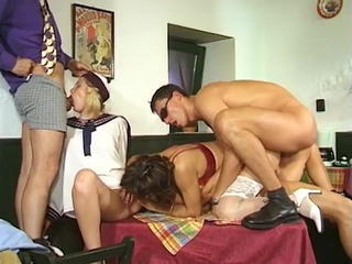 Naomi Walker - Mom and Daugther fuck by 3 studs Sex Tubes