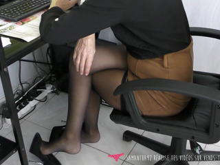 Fetish MILF Office