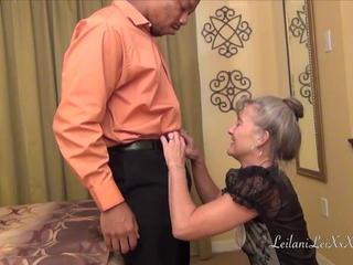 Interracial Maid Mature