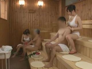 Asian Bathroom Groupsex