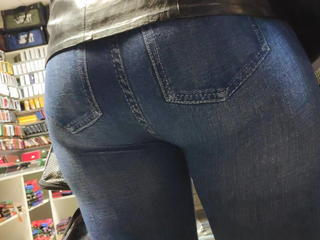 I touched big butts milfs in tight jeans 2 Sex Tubes