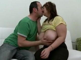 Big Tits Kissing Mature
