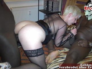 Double Penetration Interracial Stockings