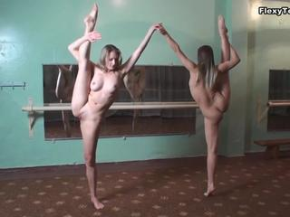 Amazing Flexible Teen
