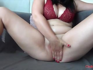 Big Tits Chubby Masturbating