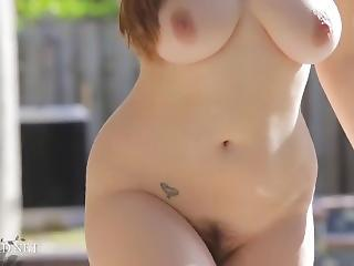 Chubby Outdoor Stripper