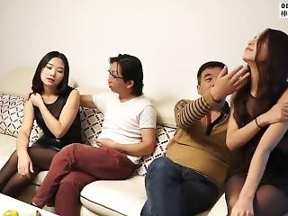 Chinese Asian Groupsex