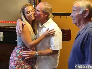 Older Threesome Amateur