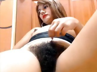 Amateur Hairy Webcam