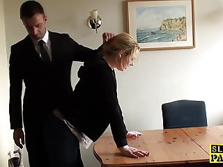 Secretary Spanking Office