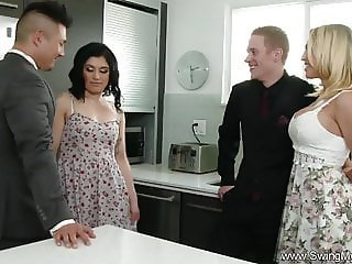 Amazing Groupsex Kitchen