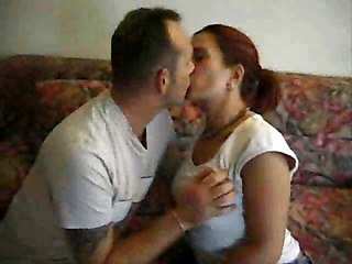 Hairy Amateur Kissing